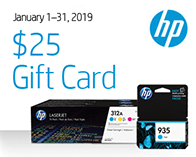 HP $25 Promotion