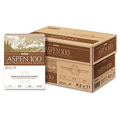 Boise 054922 ASPEN 100 Multi-Use Recycled Paper