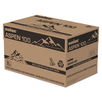 Boise 054924 ASPEN 100 Multi-Use Recycled Paper