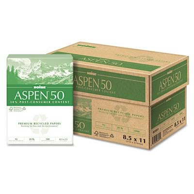 Boise 055011 ASPEN 50 Multi-Use Recycled Paper
