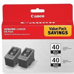 Canon PG-40 Black Twin Pack