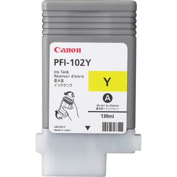 Canon PFI-102Y Yellow Ink Tank