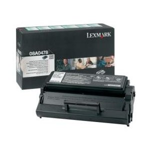 Lexmark 08A0478 Black Toner Cartridge