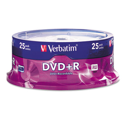 Verbatim 95033 DVD+R Recordable Disc