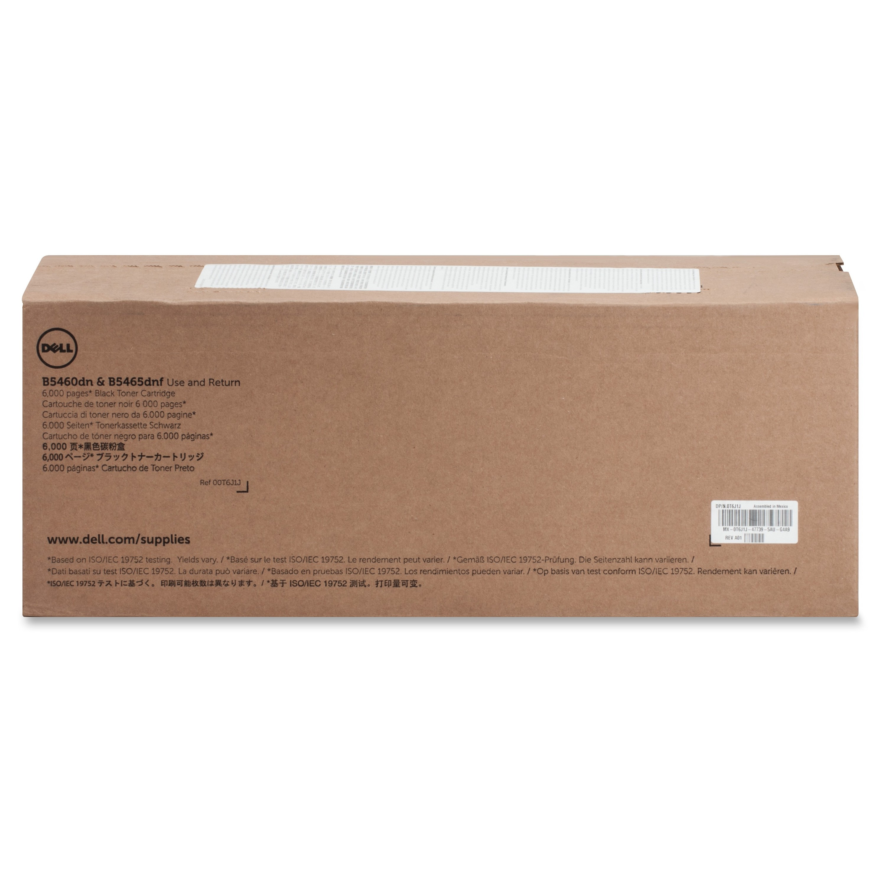 Dell J1X2W Black Toner Cartridge