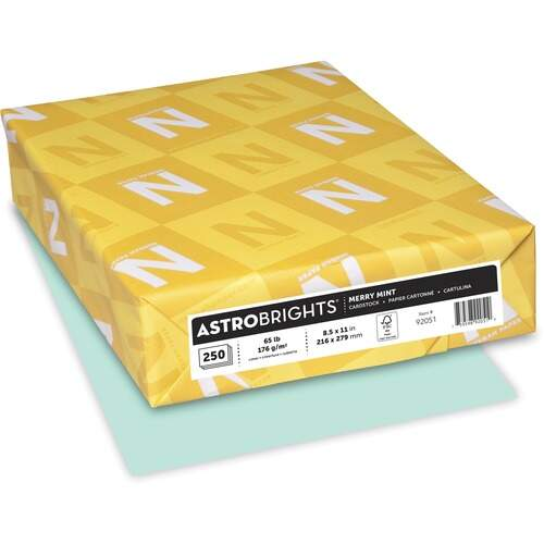 Astrobrights Astro Laser, Inkjet Printable Multipurpose Card Stock (92051)