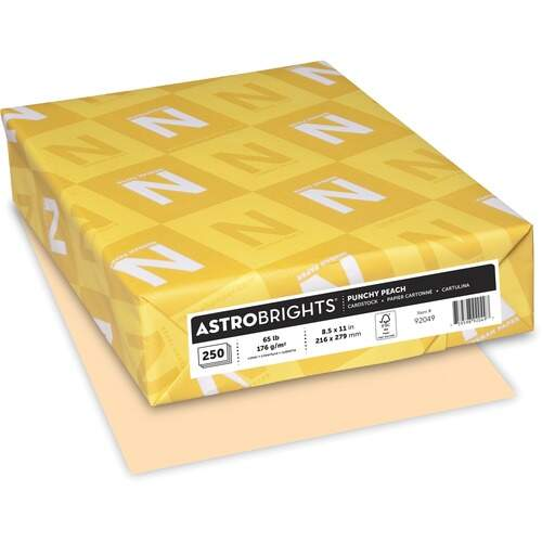 Astrobrights Astro Laser, Inkjet Printable Multipurpose Card Stock (92049)