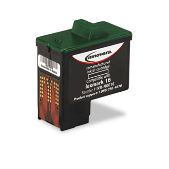 Compatible Lexmark 10N0016 Black Ink Cartridge