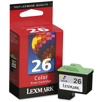 Lexmark 10N0026 Color Ink Cartridge