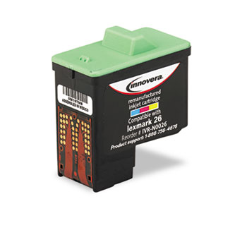 Compatible Lexmark 10N0026 Color Ink Cartridge