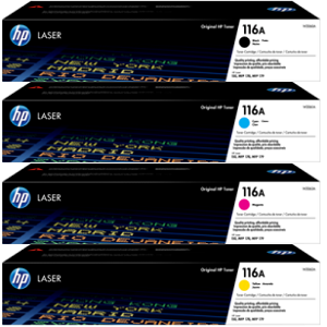 HP 116A Toner Cartridge Set