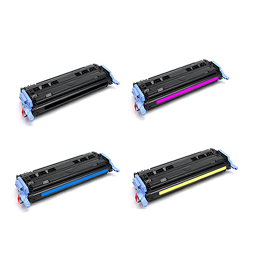 Compatible HP 124A Toner Cartridge Bundle