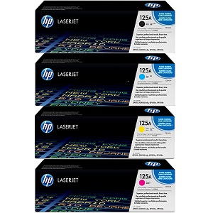HP 125A Toner Cartridge Bundle