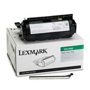 Lexmark 12A7468 Black Toner Cartridge