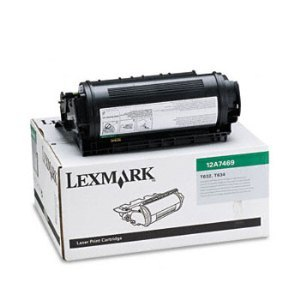 Lexmark 12A7469 Black Toner Cartridge