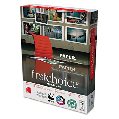 Domtar 85771 First Choice MultiUse Premium Paper