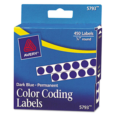 Avery 05793 Color Coding Labels