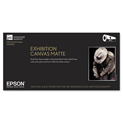 Epson S045261 Exhibition Canvas