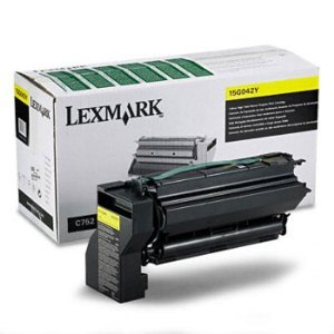 Lexmark 15G042Y Yellow Toner Cartridge