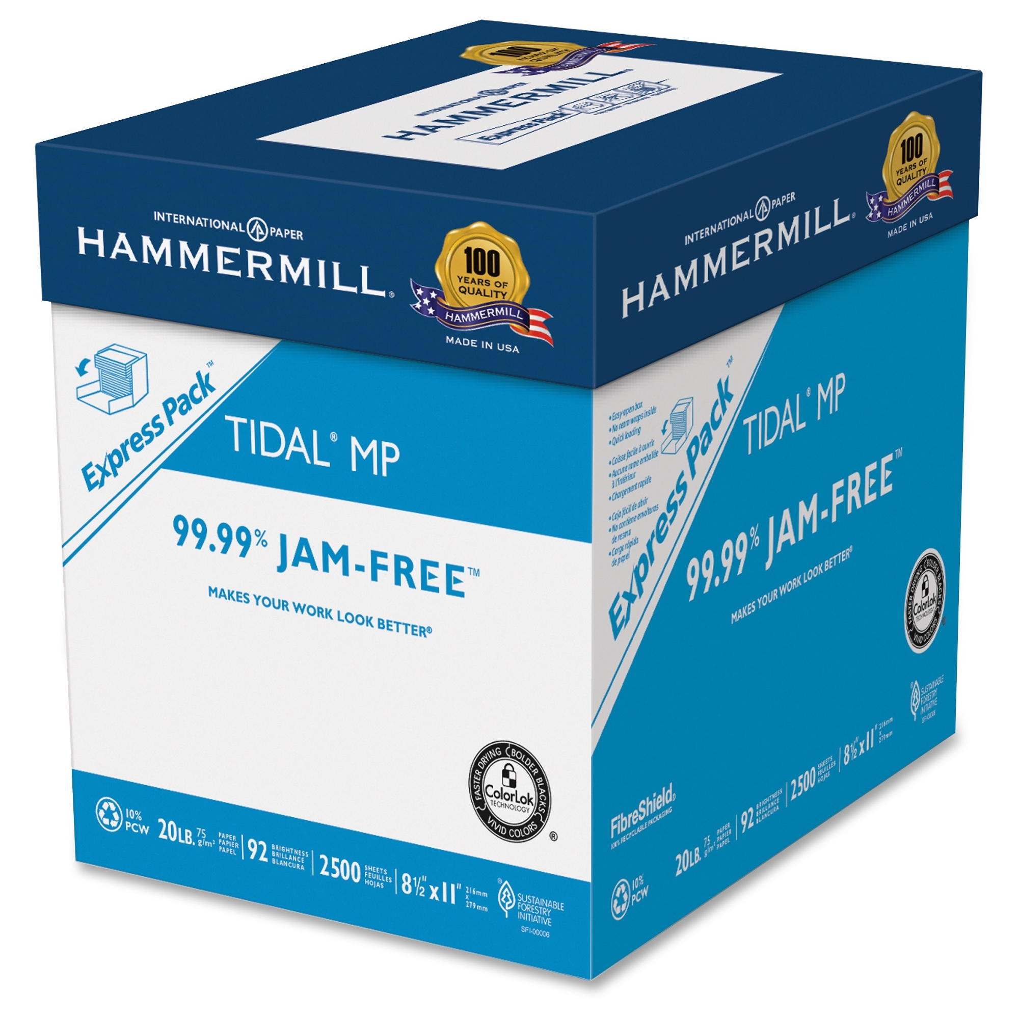 Hammermill 163120 Tidal MP Multipurpose Paper Express Pack