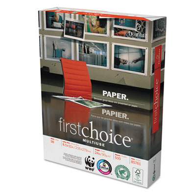 Domtar 85761 First Choice MultiUse Premium Paper