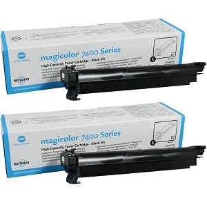 Konica 1710621-009 Black Toner Cartridge Value Pack