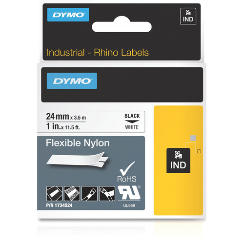 Dymo 1734524 Flexible Nylon Tape