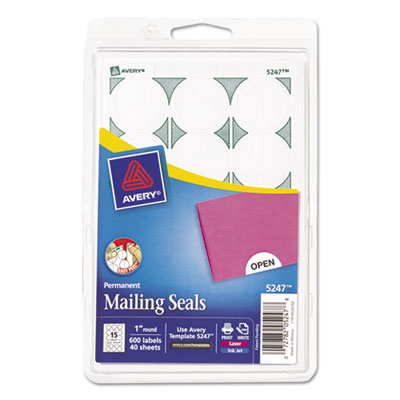 Avery 05247 Printable Mailing Seals