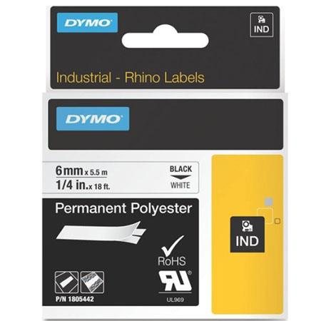 Dymo 1805442 Permanent Polyester