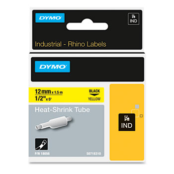 Dymo 18055 Heat Shrink Tube Labels