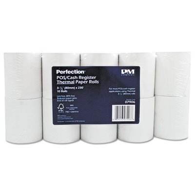 PM 07906 Direct Thermal Printing Thermal Paper Rolls