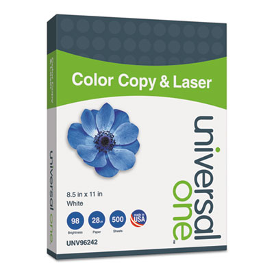 Universal 96242 Deluxe Color Copy & Laser Paper