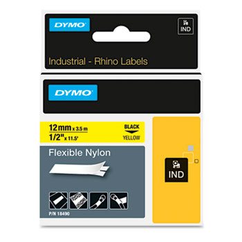 Dymo 18490 Flexible Nylon Labels