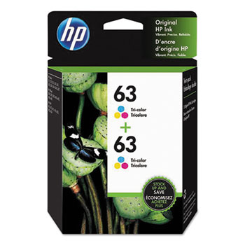 HP 1VV67AN Tri-color Ink Cartridge Twin Pack