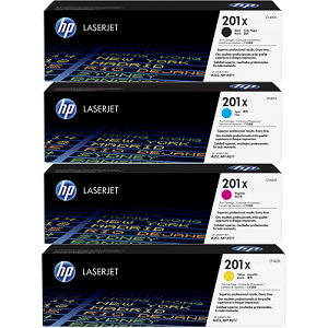 HP 201X Toner Cartridge Set