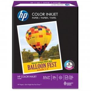 HP 202000 Color Inkjet & Laser Paper