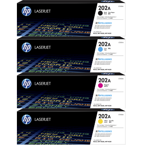 HP 202A Toner Cartridge Set