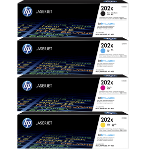 HP 202X Toner Cartridge Set