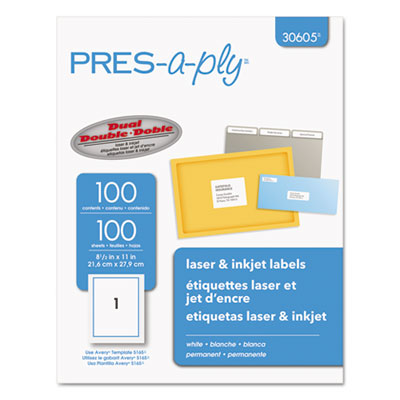 Avery 30605 Labels