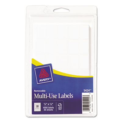 Avery 05424 Removable Multi-Use Labels