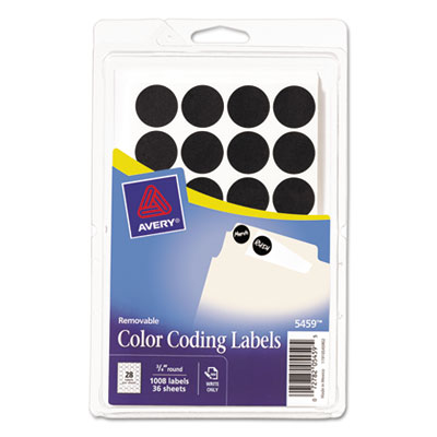 Avery 05459 Color Coding Labels