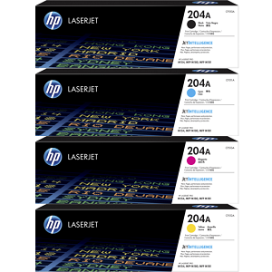 HP 204A Toner Cartridge Set