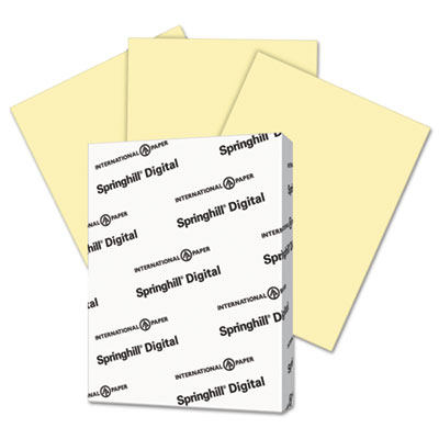 Springhill 035300 Digital Index Color Card Stock