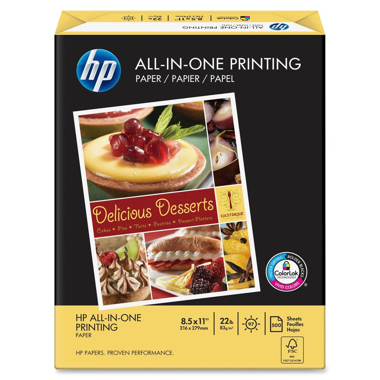 HP 207010 All-in-One Printing Paper