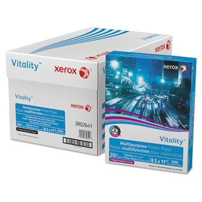 Xerox 3R02641 Vitality Multipurpose Printer Paper