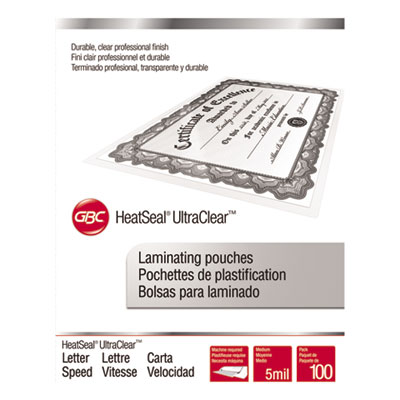 Swingline 3200587 UltraClear Thermal Laminating Pouches