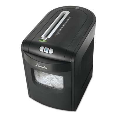 Swingline 1757392 EX10-06 Cross-Cut Jam Free Shredder