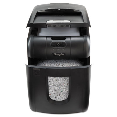 Swingline 1758571 Stack-and-Shred 130M Auto Feed Micro-Cut Shredder