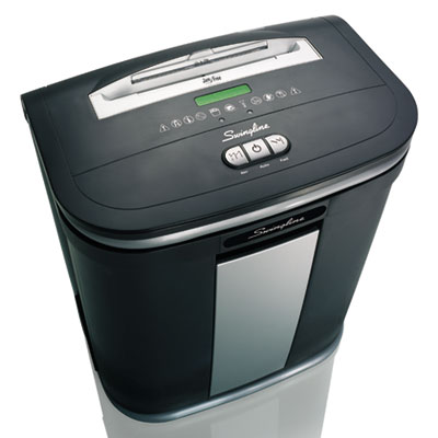 Swingline 1758495 SX16-08 Cross-Cut Jam Free Shredder