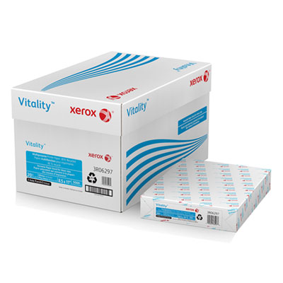 Xerox 3R06297 Vitality 30% Recycled Multipurpose Printer Paper